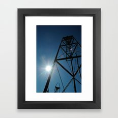 Up North, Michigan Framed Art Print