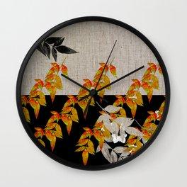 Japanese subtlety Wall Clock
