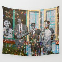 hollywood Wall Tapestries featuring Hollywood Legends  by Key2MyArt