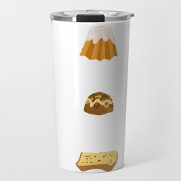 Christmas Cakes Travel Mug