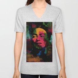 Colorful Frida Unisex V-Neck