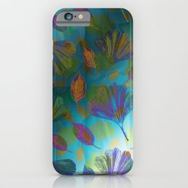 Ginkgo Leaves Under Water iPhone Case