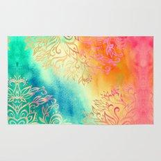 Watercolor Wonderland Rug