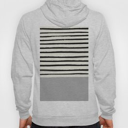 Storm Grey x Stripes Hoody