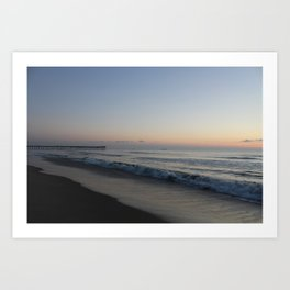 Sunrise at Virginia Beach Art Print