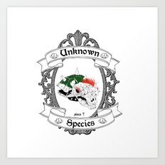 unknown Species Art Print