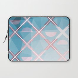 Abstract Triangulated XOX Design Laptop Sleeve