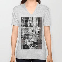intrinsically embedded in an equation of exclusion Unisex V-Neck