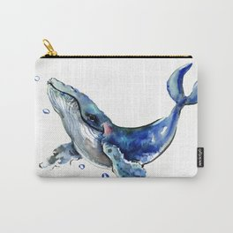 Whale Artowrk, Humpback Whale Carry-All Pouch
