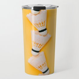 shuttlecocks for badminton Travel Mug