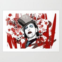 MarilynManson Art Print