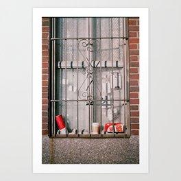 east village, nyc Art Print