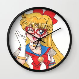 Sailor V Wall Clock