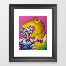 Beatris and Terry Framed Art Print