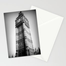 Ben looms in black and white, too. Stationery Cards