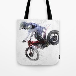 Nose Stand - Motocross Move Tote Bag