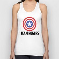 steve rogers Tank Tops featuring Team Rogers by chrismathew_