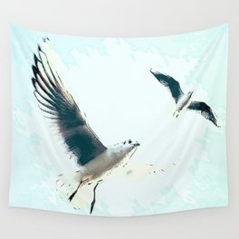 Seagulls Wall Tapestry
