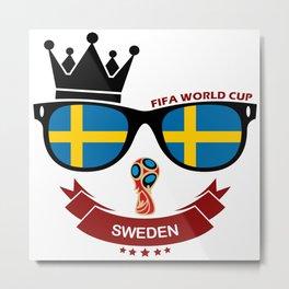 FIFA WORLD CUP 2018 - SWEDEN Metal Print