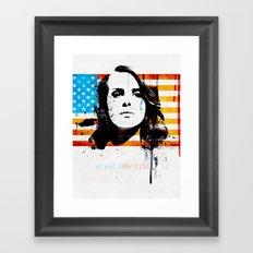 Born to dream Framed Art Print