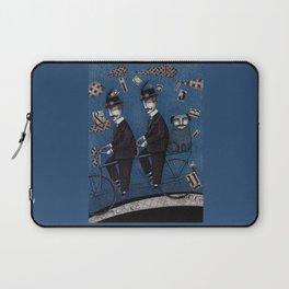 Two Men Travelling Laptop Sleeve