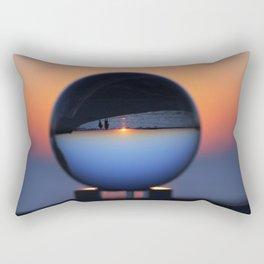 Crystal Ball Blue Hour Rectangular Pillow