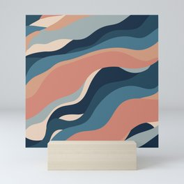 Abstract seamless pattern #6 Mini Art Print