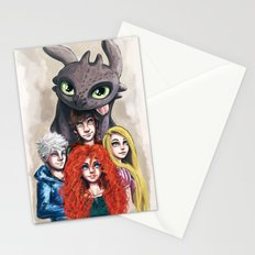 RISE OF THE BRAVE TANGLED DRAGONS Stationery Cards