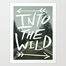 Into the Wild II Art Print