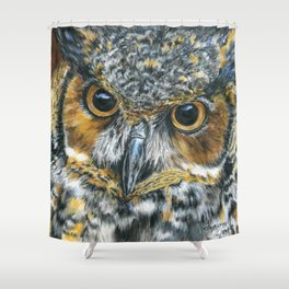 Octavious by Teresa Thompson Shower Curtain