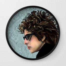 Bob Dylan Portrait Wall Clock