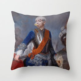 King TOP for Arena Homme Throw Pillow
