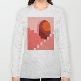 Abstraction_SUN_Architecture_Minimalism_001 Long Sleeve T-shirt
