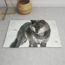 Alpha Wolf Rug