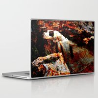 contemporary Laptop & iPad Skins featuring abstract contemporary by  Agostino Lo Coco