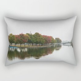 Fall at the Old Port of Montreal Rectangular Pillow