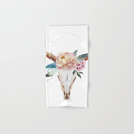 Animal Skull 04 Hand & Bath Towel