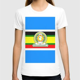 flag of East African Community or EAC T-shirt