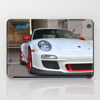 porsche iPad Cases featuring Porsche by Nick Nieu