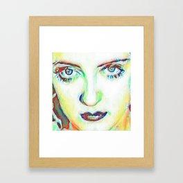 She's got Bette Davis Eyes Framed Art Print
