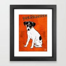 Dog: Rat Terrier Framed Art Print