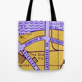 Streets of London Tote Bag