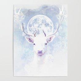 The White Deer Poster