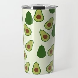 Cute Avocado Travel Mug
