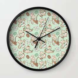 Kittea Time Wall Clock