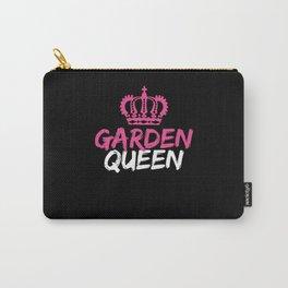 Garden Queen Gardener Botanical Flower Plants Carry-All Pouch