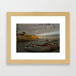 Harbour studies 001 Framed Art Print