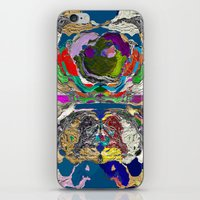 daunt iPhone & iPod Skins featuring Daunt by K Shayne Jacobson