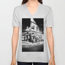 Café le Nazir (Montmartre; Paris) Unisex V-Neck