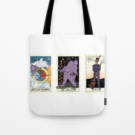 fall out tarot Tote Bag